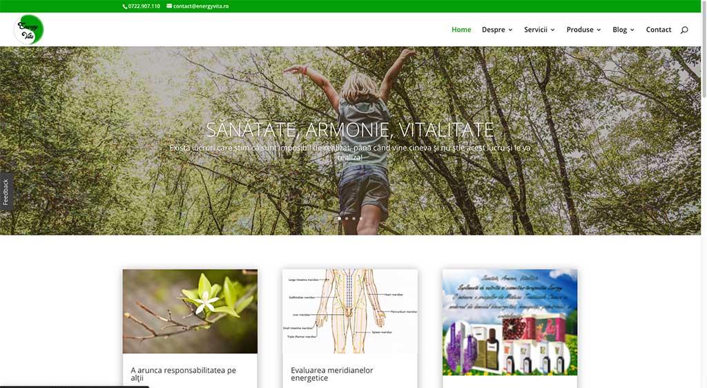 Energy Vita | Sănătate, Armonie, Vitalitate