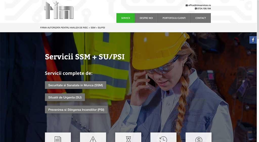 TIM Services | Pagină servicii de protecția muncii