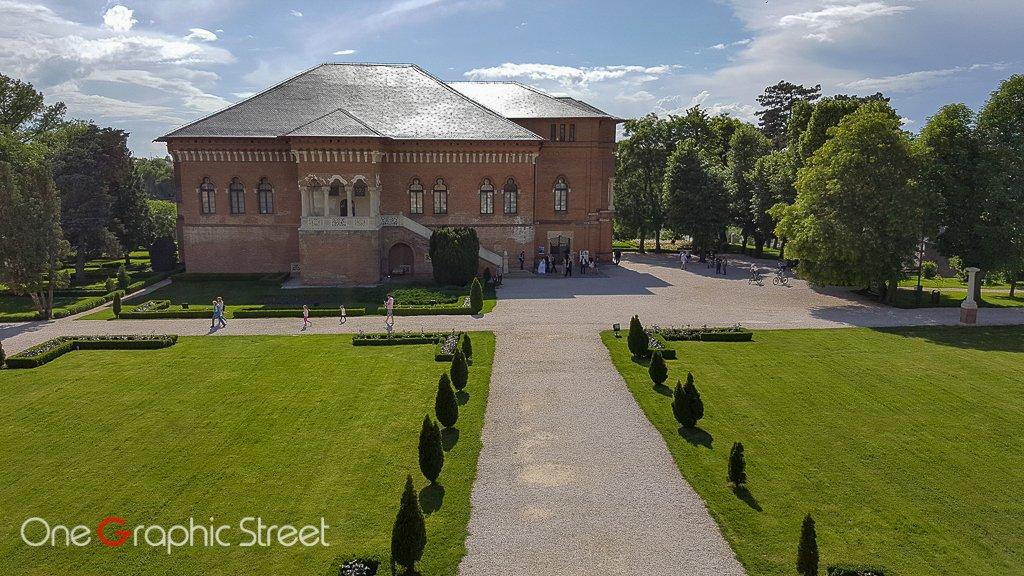 Fotografie cu Palatul Mogoșoaia