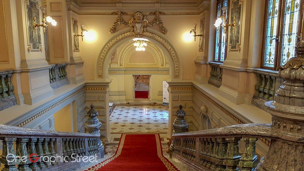 Fotografie din interiorul Palatului Cotroceni
