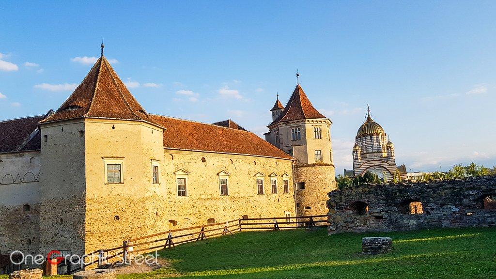 Fotografie cu Cetatea Făgăraș