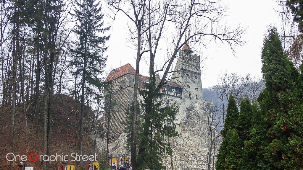 Fotografie cu Castelul Bran
