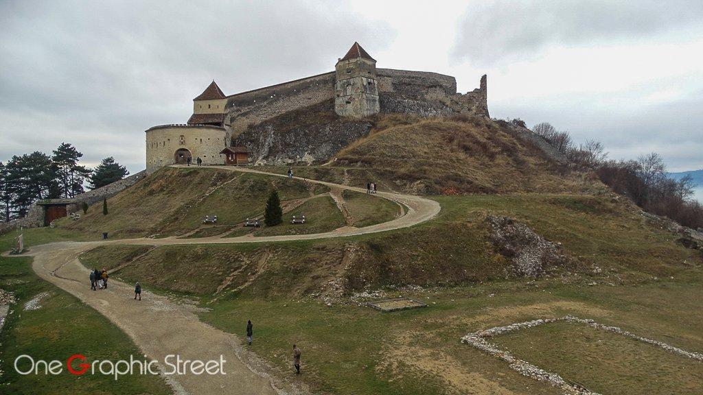Fotografie cu Cetatea Râșnov