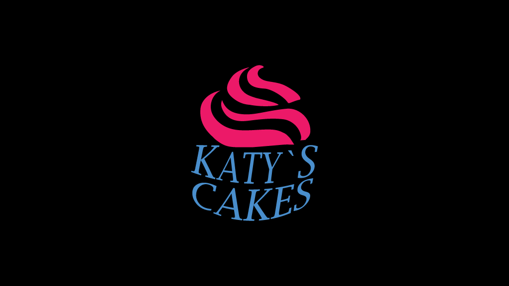 The Identity of Katy's Cakes Confectionery – The Muffin Logo