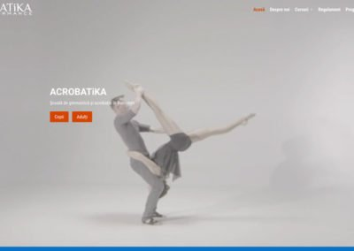 ACROBATiKA – School of Gymnastics and Acrobatics in Bucharest