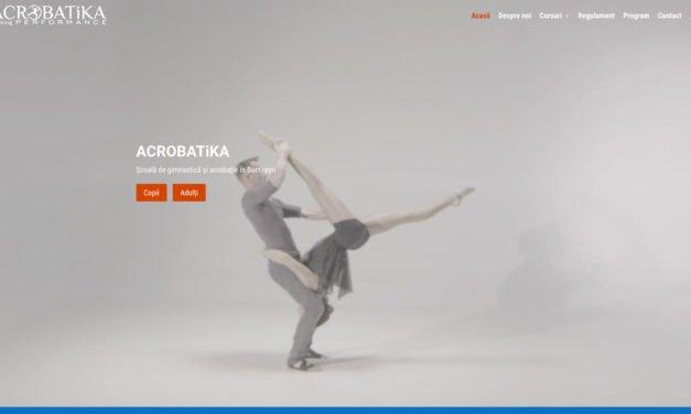ACROBATiKA – School of Gymnastics and Acrobatics in Bucharest