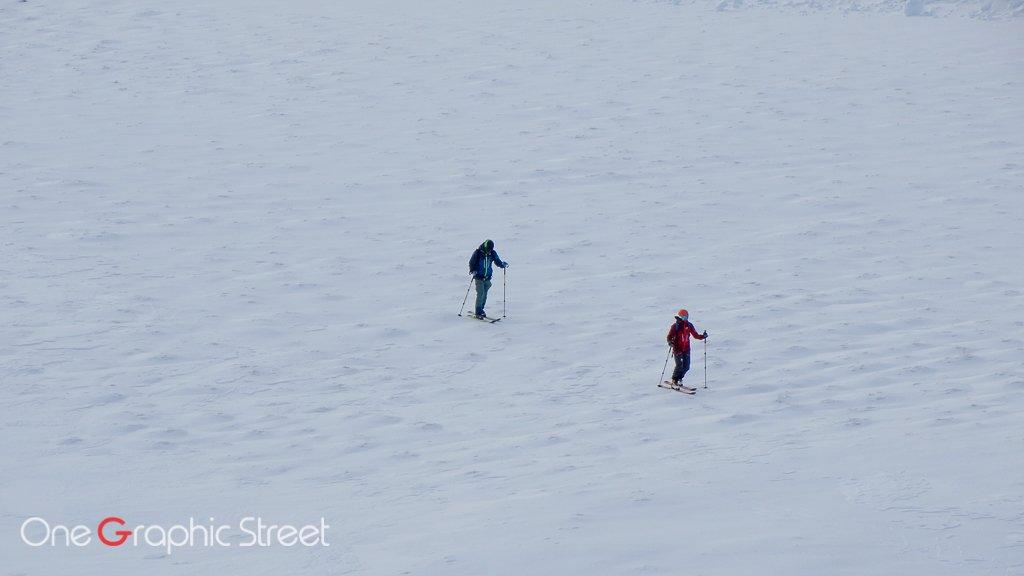 Skiing on Bucegi Plateau, Romania