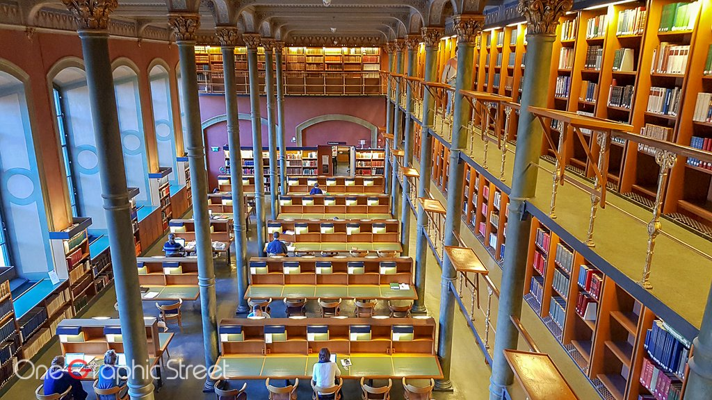Photography inside National Library of Seweden