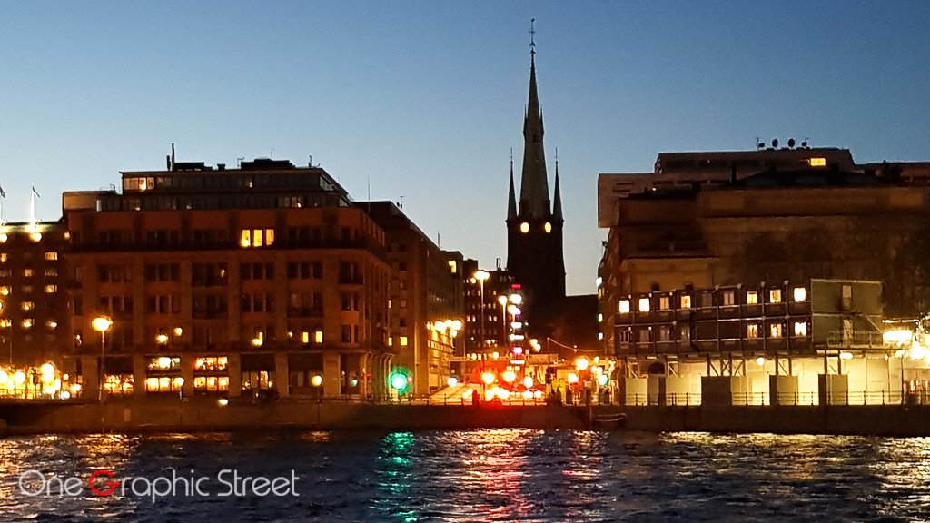 Stockholm at night photography